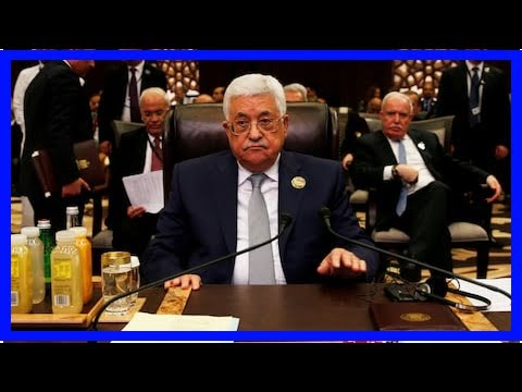 World News - The decision shatters the old guard Palestinian jerusalem Trumps