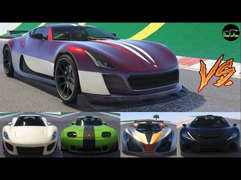 gta 5 top speed drag race coil cyclone vs voltic x80