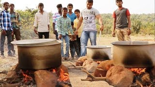 20 POUND CHICKEN CURRY AND BIRYANI RICE FOR VILLAGE KIDS 😍😍