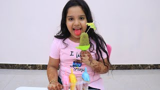 Ice Cream Popsicles for Learn Colors | Nursery Rhymes Color Song for Kids with shfa
