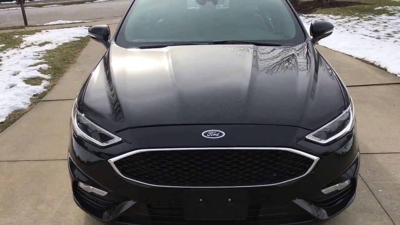 2017 Ford Fusion Sport Or Focus Rs