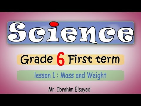 Science 6th primary. First term |ساينس للصف السادس الابتدائي ترم اول