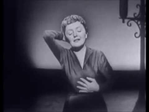 Edith Piaf - l'Hymne A L'Amour + interview par Dolores Gray 1951 et 1955