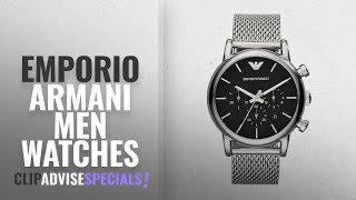 10 Best Selling Emporio Armani Men Watches [2018 ]: Emporio Armani Men