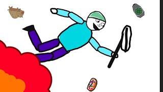 Скалолаз(рисуй мультфильмы 2)