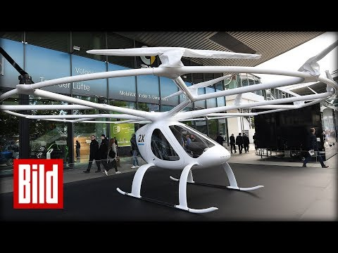 Volocopter-Test in Dubai - Fliegen für Dummies