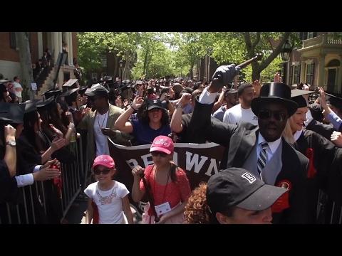Brown University Procession