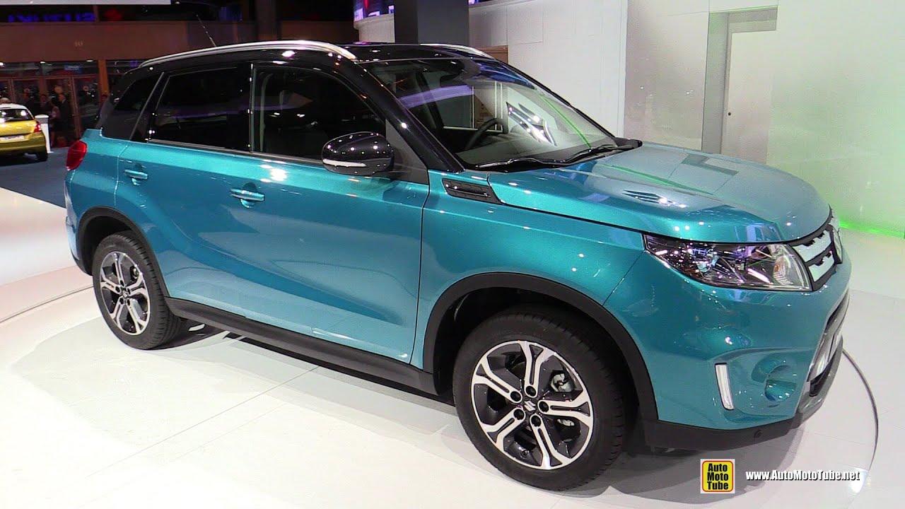 Toyota Rush Modified >> 2015 Suzuki Vitara - Exterior and Interior Walkaround Debut at 2014 Paris Auto show - YouTube