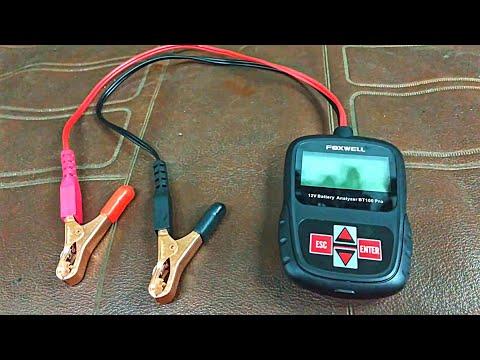 Анализатор автомобильных АКБ Foxwell BT100 Pro - полезная игрушка.