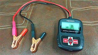 Аналізатор автомобільних АКБ Foxwell BT100 Pro - корисна іграшка.