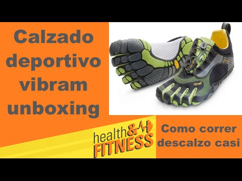 Como correr casi descalzo calzado vibram five finger review unboxing Health & Fitness in USA