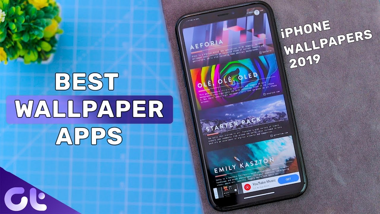Top 7 Best Wallpaper Apps For Iphone In 2019 Guiding Tech Youtube