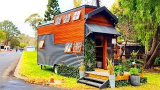 Incredible Beautiful KATE Tiny House from Word   Lovely Tiny House
