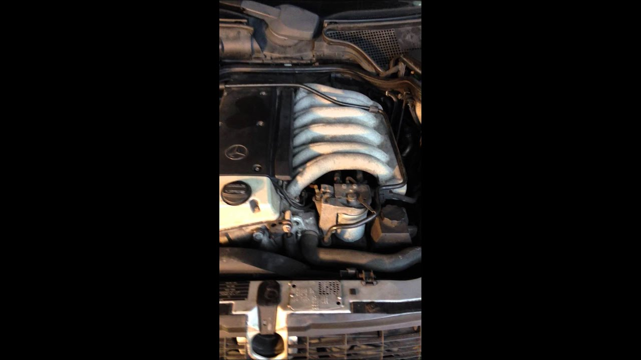 1998 MERCEDES E300TD W210 COMPLETE ENGINE OM606 962 FOR SALE