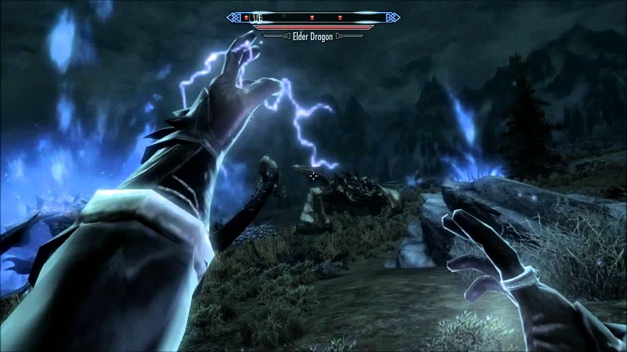 Download Skyrim: Perfect (Legit) Mage Destroys 5 Dragons