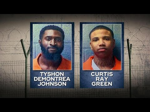 2 murder suspects on the loose from S.C. jail