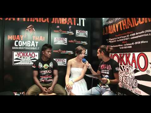 Interview Stefania Picelli & Buakaw Por Pramuk @Muay Thai Co