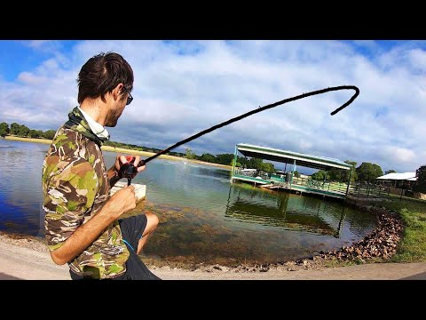 FISHING The BEST FARM POND In The WORLD?!