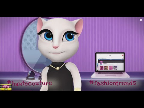 My Talking Angela - Children & Kids 2015 Episode HD GamePlay Trailer