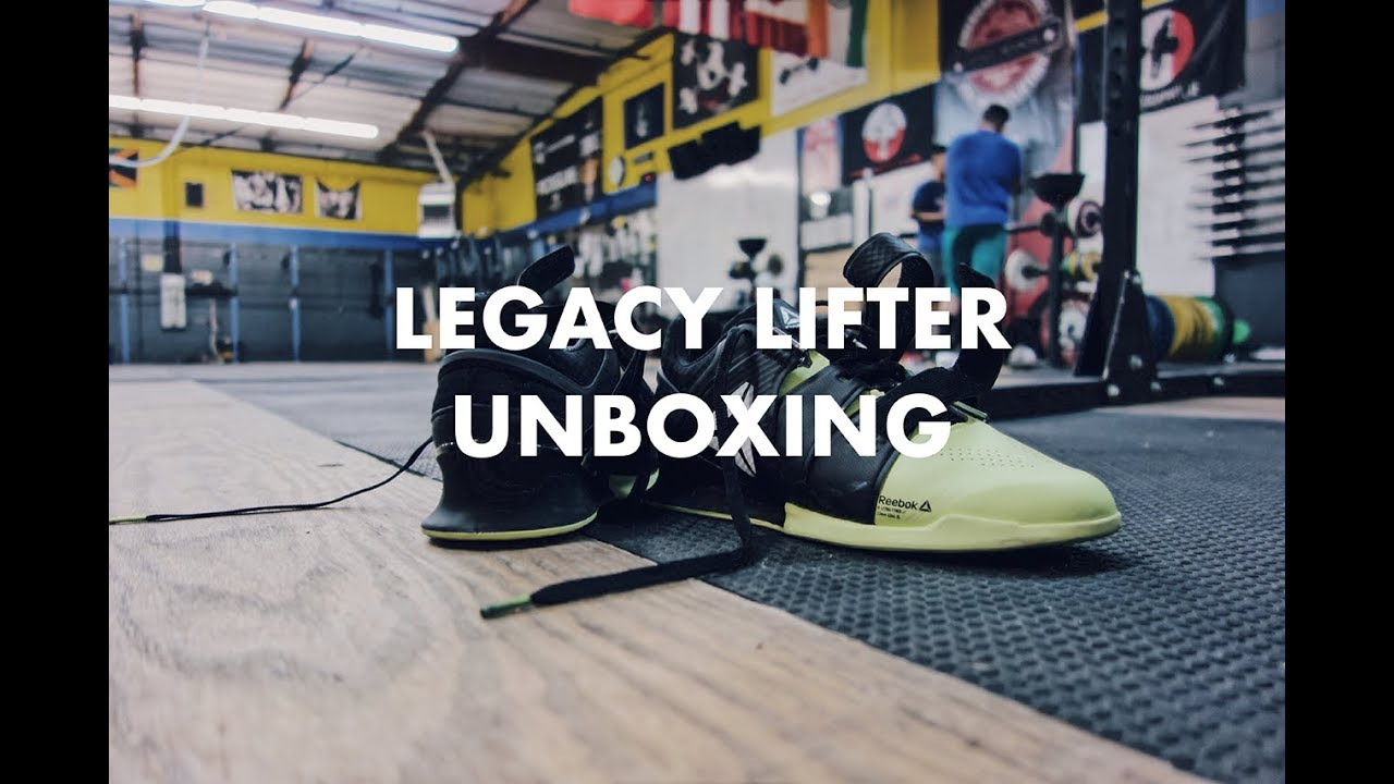 Crossfit Gear Haul! Reebok Legacy Lifter   Adidas Singlet Unboxing ... cc9816be1