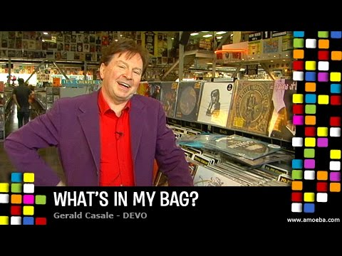 Gerald Casale (DEVO) - What's In My Bag?