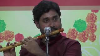 Dr.B.Vijaya Gopal - Flute  l December Music Festival 2017 l Sri Parthasarathy Swami Sabha