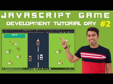 Day 2 - JavaScript Game Development Tutorial In Hindi 2020