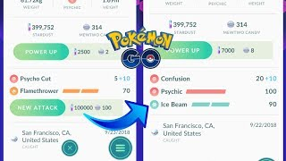 HOW TO UNLOCK A 2ND CHARGE MOVE IN POKEMON GO! 100K STARDUST COST?!