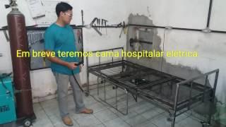 Cama hospitalar eletrica
