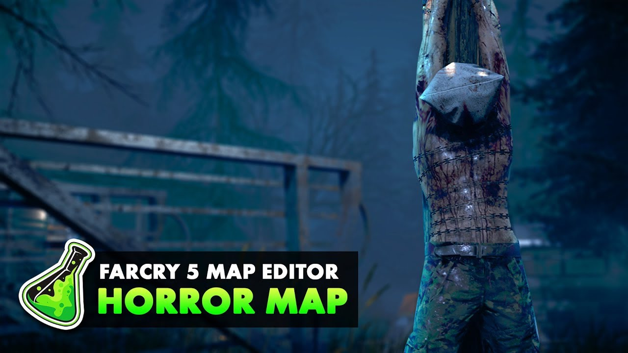 Far Cry 5 Map Editor Making A Horror Map Forge Labs Youtube