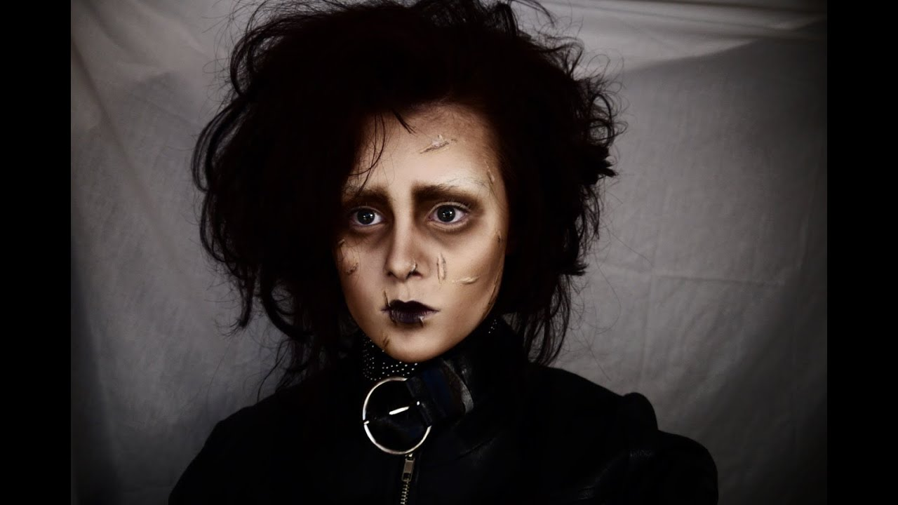 Edward Scissorhands Face Paint
