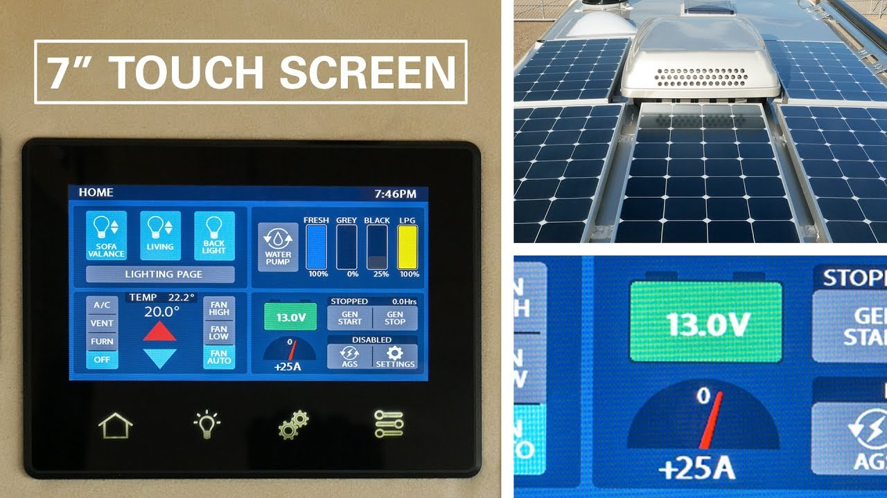 In Depth Look At New 7 Quot Touch Screen Control Panel Youtube