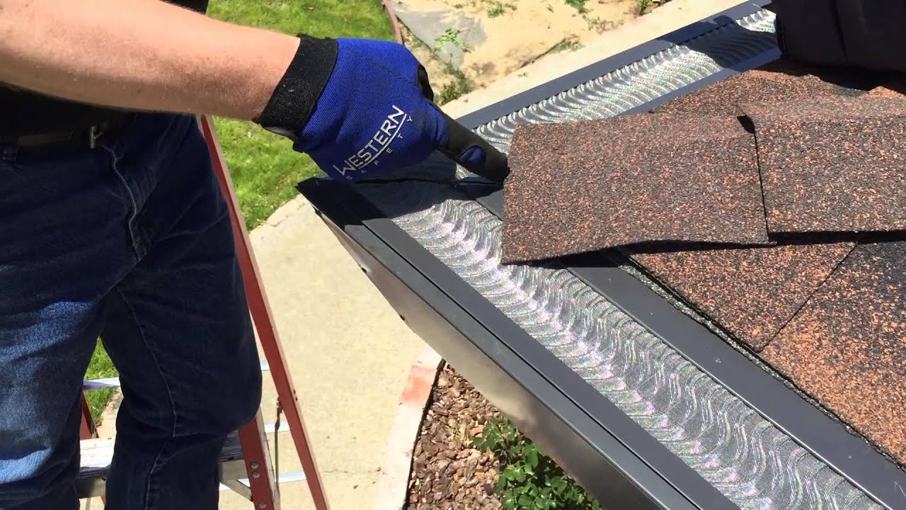 Valor Gutter Guard Introduction By Bill Lasell Youtube