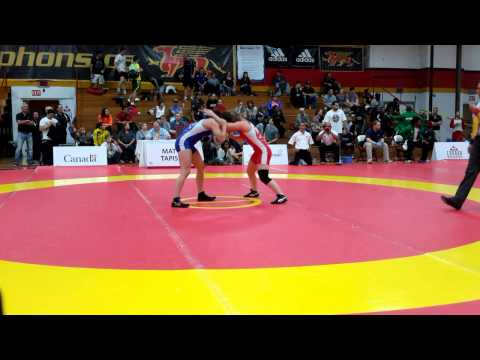 2015 Canada Cup: 53 kg Jade Papke (CAN) vs. Madison Parks (CAN)