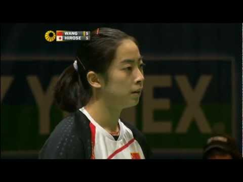 R16 - WS - Wang S. vs E. Hirose - 2012 All England