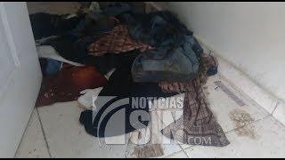 Gusanos salen de vivienda donde mujer y sus tres hijos fueron asesinados thumbnail