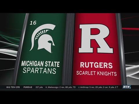 Michigan State at Rutgers  Football Highlights
