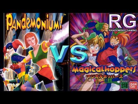 Pandemonium! and Magical Hopper comparison  Sega Saturn  720p 60fps