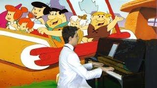 Bilgisayar Oyun Müzikleri TAŞ DEVRİ ÇAKMAKTAŞ Ailesi ÇİZGİ FİLM SİNEMA Piyano Sitcom Komedi Komik