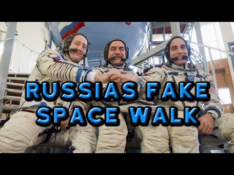 Russias Fake Space Walk - Flat Earth