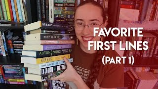 Favorite First Lines of Books | Part 1
