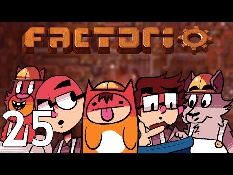 Factorio  - Season Two  - Episode 25 [Downstream]
