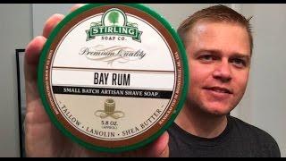 Stirling Pre-Shave Oil & Soap (Bay Rum)