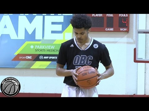 Sincere Carry is a FLASHY Freshman Point Guard from Cleveland - Ohio Basketball Club 2018