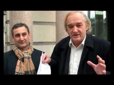 Mohamed El-Ghanam, dissident égyptien, emprisonné à Genève en Suisse.