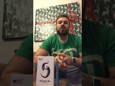 Yocan Evolve D Review and Headache Relief from CBD