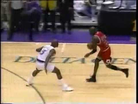 Michael Jordan (Age 35): Last Shot As A