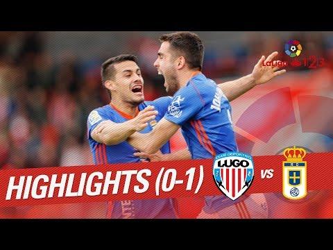 Resumen de CD Lugo vs Real Oviedo (0-1)