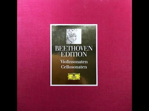 VACKSBOOK_2018  BEETHOVEN  ViolIn And Cello Sonate A Dur Op. 47 Kreutzer Sonate   Sonate G Du