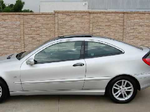 Used 2003 mercedes benz c230 kompressor sport irving tx for Mercedes benz irving tx